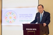 Secretary-General Ban Ki-moon attends Closing of Civil Society Organization Forum.
